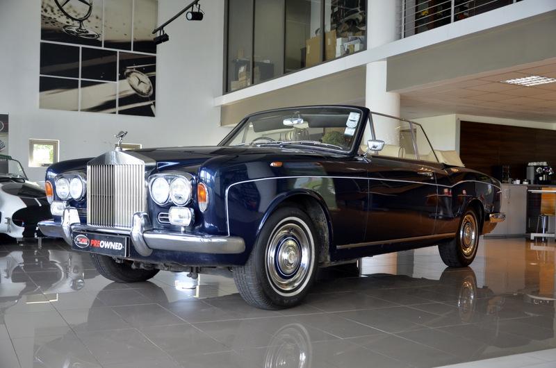 Rolls Royce Silver Shadow Drophead Coupé 2