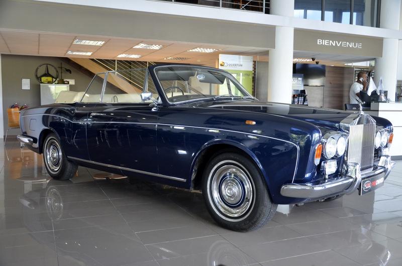 Rolls Royce Silver Shadow Drophead Coupé 1
