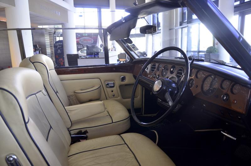 Rolls Royce Silver Shadow Drophead Coupé 8