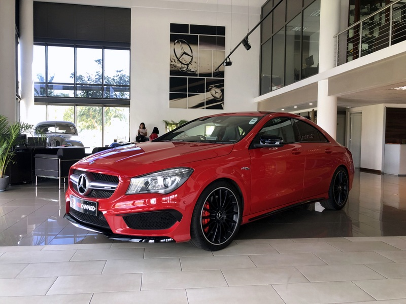 Mercedes Benz CLA-Class 45 AMG-Package