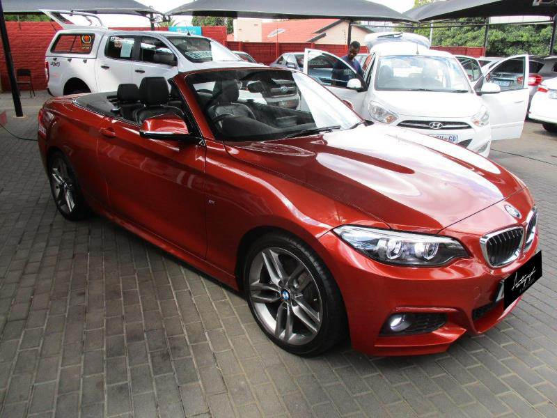 BMW 2-Series 220i Msport Cabriolet 1