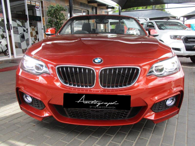 BMW 2-Series 220i Msport Cabriolet 3