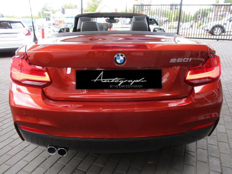 BMW 2-Series 220i Msport Cabriolet 9