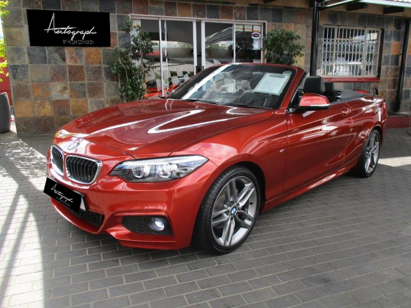 BMW 2-Series 220i Msport Cabriolet 12