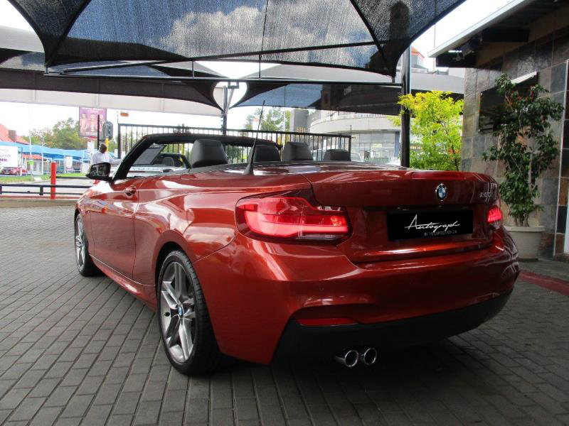 BMW 2-Series 220i Msport Cabriolet 13