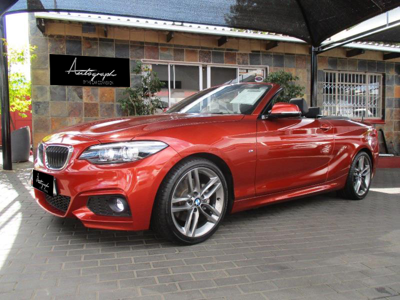 BMW 2-Series 220i Msport Cabriolet 2