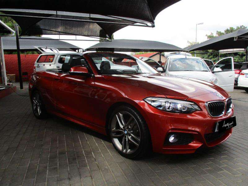BMW 2-Series 220i Msport Cabriolet 14