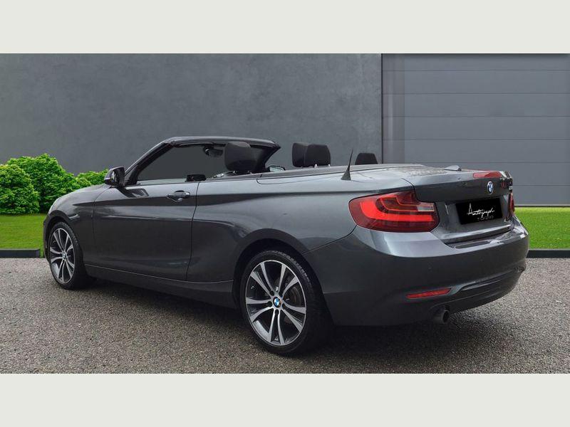 BMW 2-Series 218i Sport Convertible 2